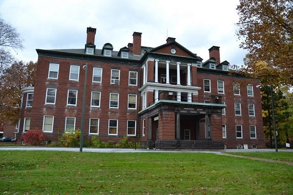 The former Harrisburg State Hospital closed in 2006 and now serves as government offices.