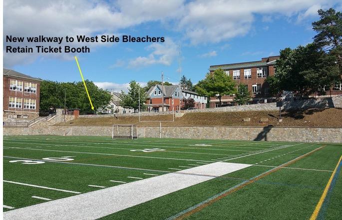 Rendering of plan for Memorial Field