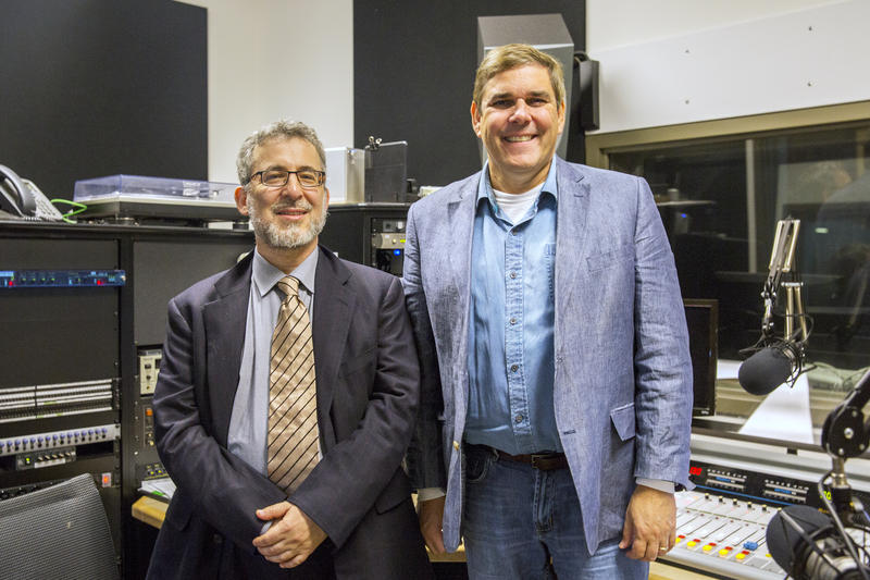 Michael McDonald (right) and Micah Altman are the lead researchers for the Public Mapping Project.