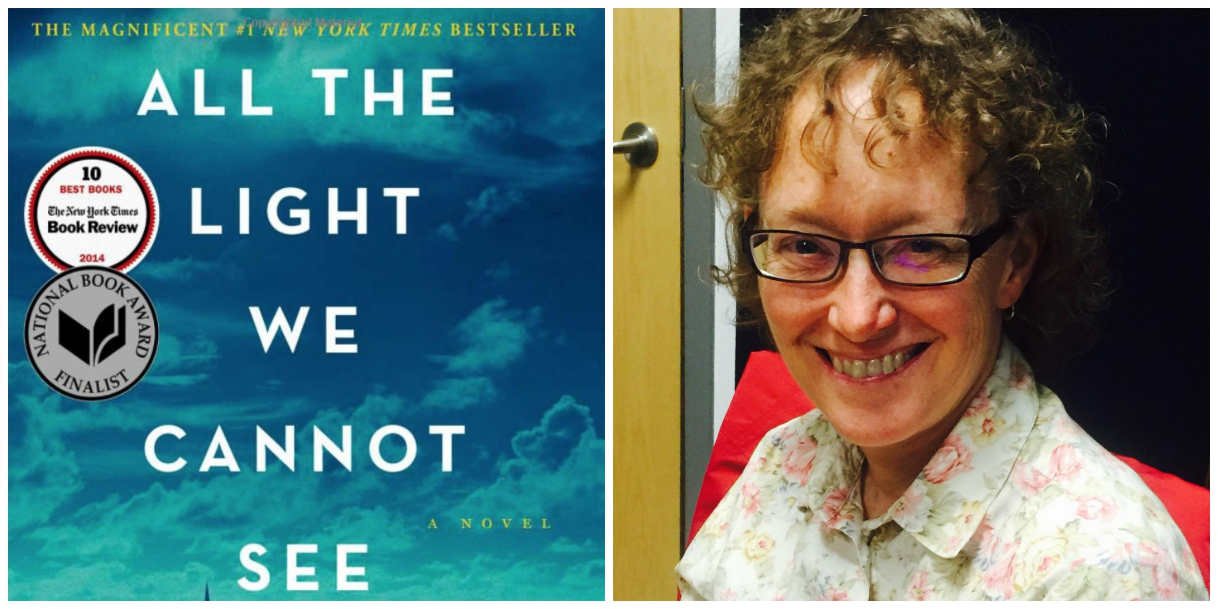 Bookmark quot all the light we cannot see quot by anthony doerr wpsu