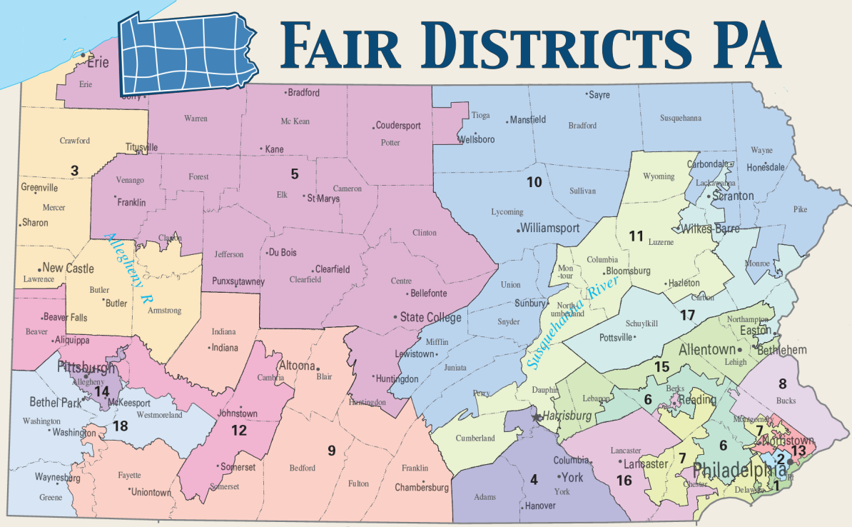 Take Note Fair Districts PA On Fighting Gerrymandering In