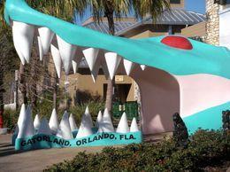 Gatorland entrance in Orlando