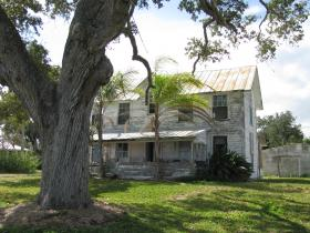 Russell House on the river in St. Lucie Village