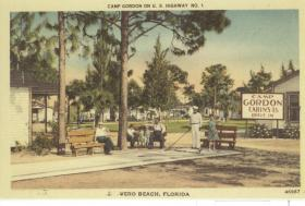 Postcard of Camp Gordon