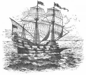Spanish treasure ship