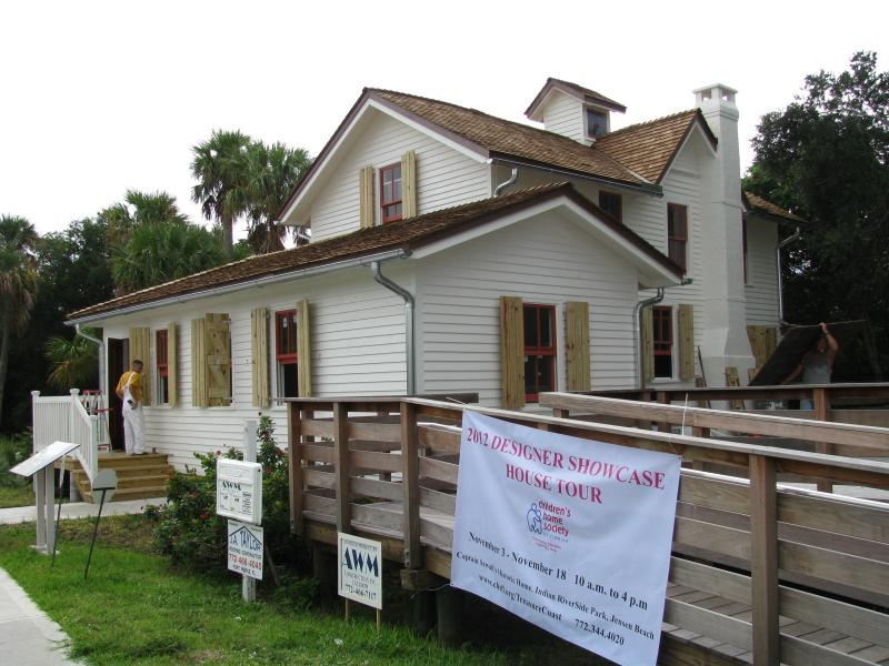 The Captain Sewall House, built in 1891, will become an artifact of the era in Indian Riverside Park in Jensen Beach.