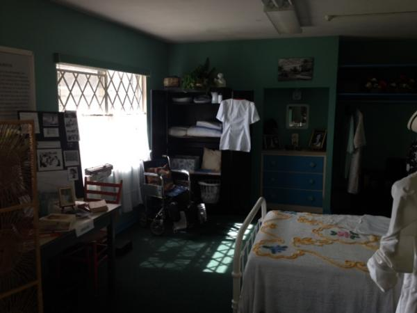 The room where Zora Neale Hurston lived