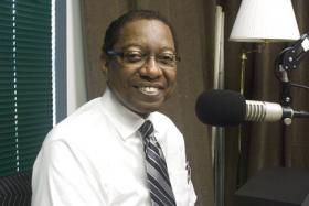 East Baton Rouge Mayor-President Kip Holden in the WRKF studio.