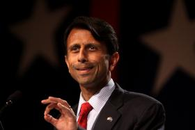 FILE: Gov. Bobby Jindal speaking at the Values Voter Summit in Washington, D.C. in 2011.
