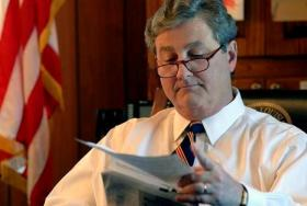 State Treasurer John Kennedy released no comment supporting or denouncing Governor Jindal's tax plan, but instead offered a list of questions for taxpayers to discuss.