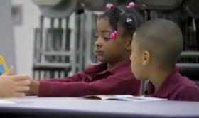Students in a Baton Rouge public school.