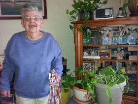 Roberta Fontenot, 70, once lived in the state's largest institution for individuals with developmental disabilities. She now lives in her own apartment on waiver supports.