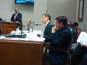 Louisiana Revenue Secretary Tim Barfield urges Revenue Estimating Conference to keep questioned income in forecast.