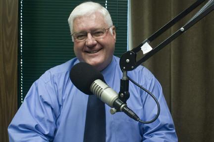 Mayor Pro Tem and Republican candidate for mayor-president of East Baton Rouge Parish Mike Walker in the WRKF studio.