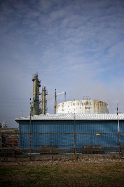ExxonMobil's Baton Rouge refinery.