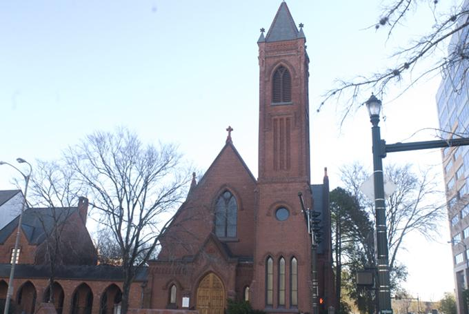 Bells chimed at St. James Episcopal Church for the victims of the shooting at Sandy Hook Elementary School in Newtown, CT.
