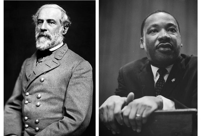 "Gen. Robert E. Lee and Dr. Martin Luther King are remembered together in Mississippi on ""Heritage Day""."