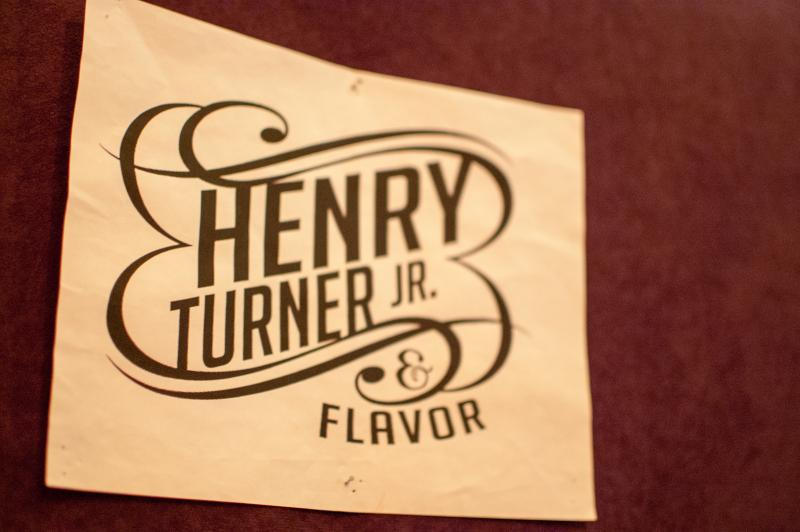 "Turner has fronted ""Henry Turner Jr. & Flavor"" since the early '90's"