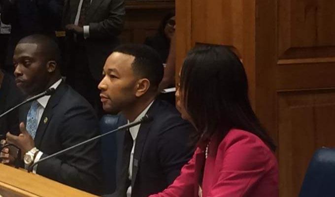John Legend testifies in House Judiciary