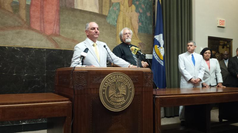 Gov. John Bel Edwards' post-session press conference