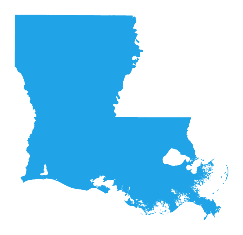 Blue Louisiana