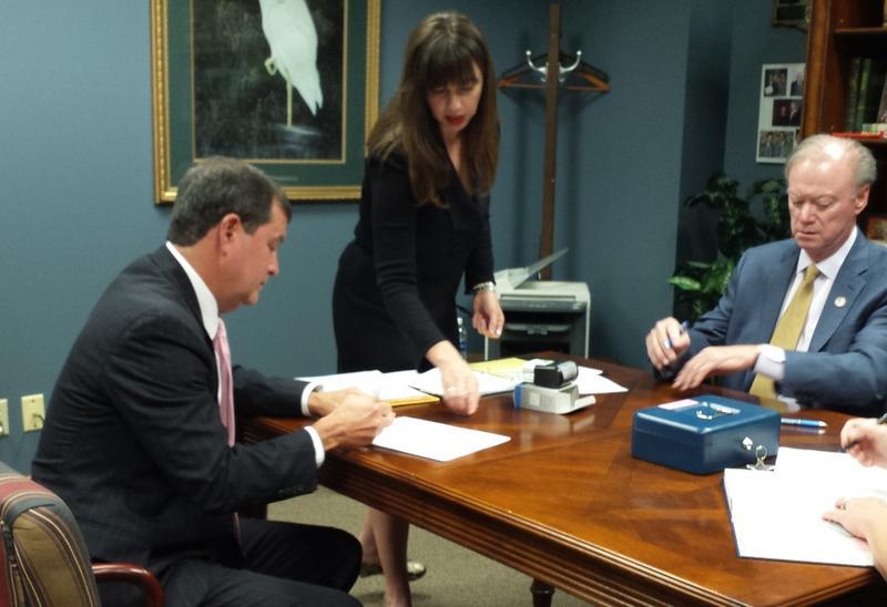 Treasurer candidate Neil Riser