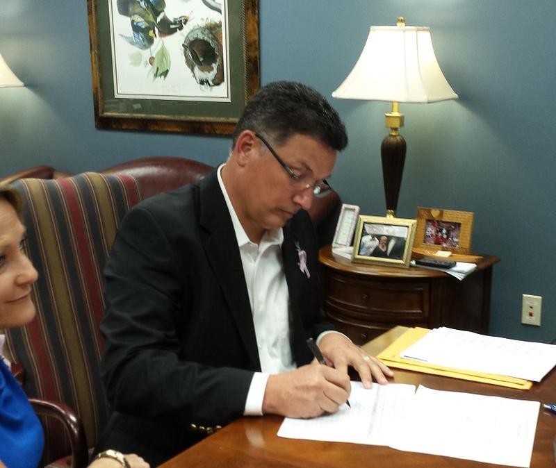 Treasurer candidate John Schroder