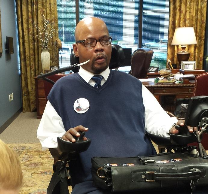 Treasurer candidate Derrick Edwards