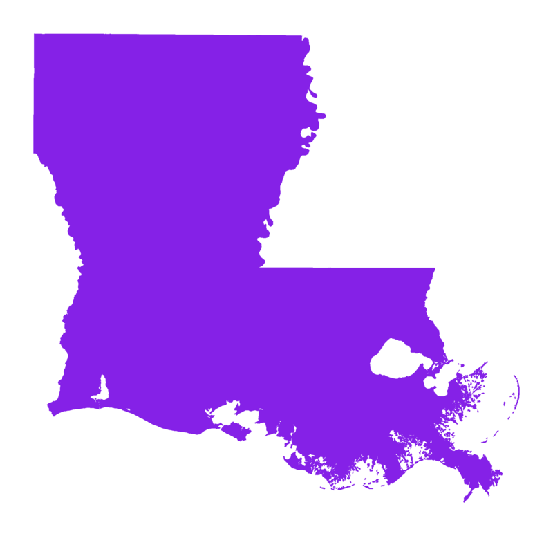 Purple Louisiana