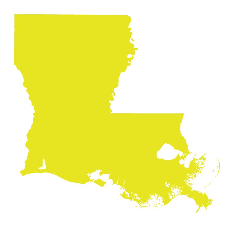Yellow Louisiana