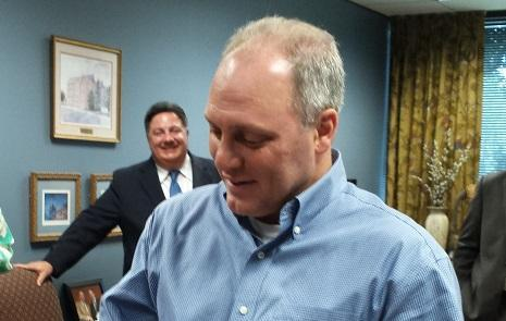 Steve Scalise at re-election qualifying in 2016