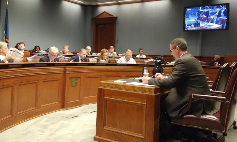 Citizens CEO Richard Newberry testifies before Joint Insurance January 9, 2018