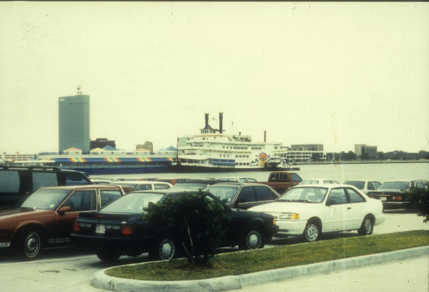 First riverboat casino: Players Lake Charles, circa 1995