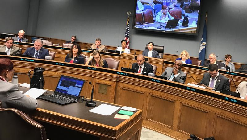 The House Ways and Means Committee met Wednesday, Feb. 21, to consider bills that would raise revenue.  The state faces a $1 billion budget shortfall starting July 1, 2018.