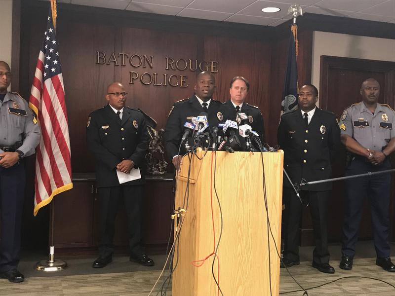 Baton Rouge Chief of Police Murphy Paul announced the outcome of an administrative investigation of the two officers involved in the 2016 fatal shooting of Alton Sterling.