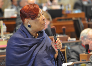 Rep. Patricia Smith, D-Baton Rouge, authored a bill that would allow felons under community supervision to vote that passed in a House committee Wednesday.