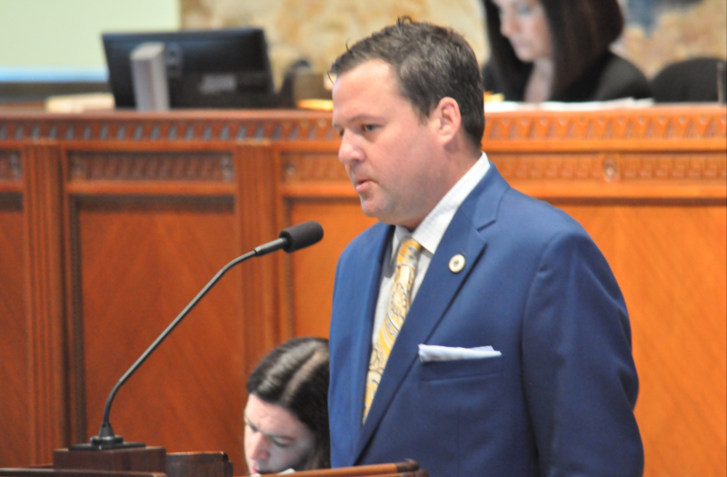 Rep. Stuart Bishop, R-Lafayette, apologized to his fellow legislators on the House floor for a physical altercation with Sen. Norby Chabert, R-Houma.