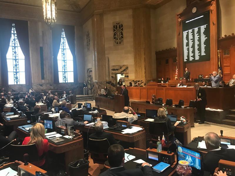 File photo: Louisiana House of Representatives