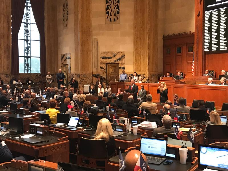 Governor John Bel Edwards addressed a joint meeting of the House and Senate to open the thrid special session on Monday, June 18.