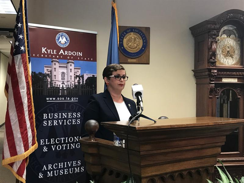 State Representative Julie Stokes (R-Kenner) is running for Louisiana's Secretary of State on the November 6th ballot.