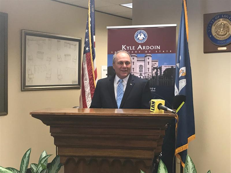Congressman and House Majority Whip Steve Scalise (R-Jefferson) is seeking re-election to his seat as Representative to Louisiana's 1st congressional district in the US House of Representatives.