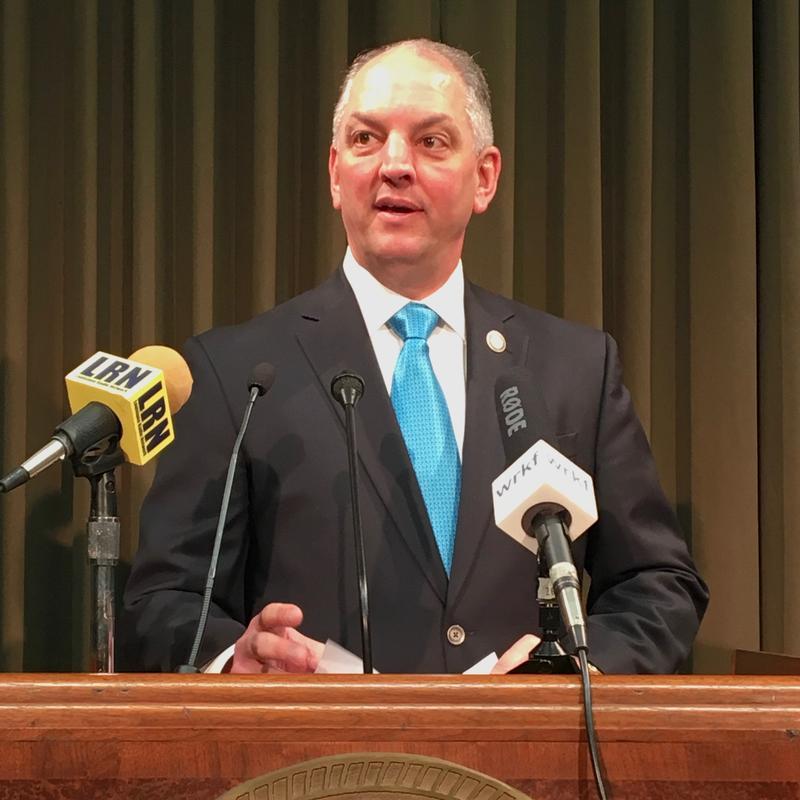 File photo: Governor John Bel Edwards