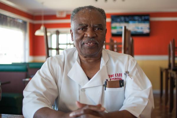 Franklin Brown, owner, Bayou Café