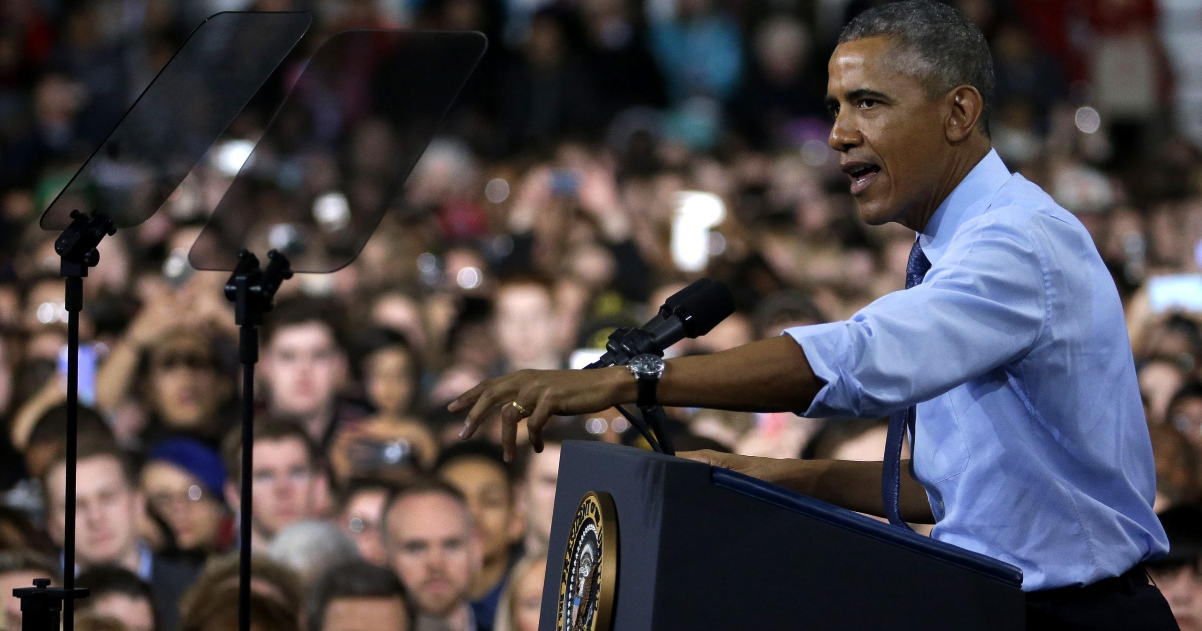 Watch Obama Town Hall In Baton Rouge Wrkf