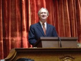 Gov Chafee gives his state of the state address