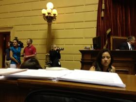 Grosch in the House chamber
