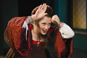 Madeleine Lambert as Anne Boleyn
