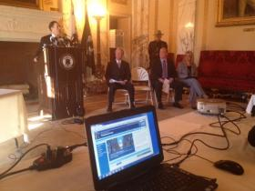 Gov. Chafee launches RI's Transparency Portal