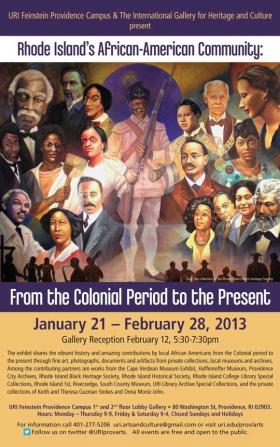 URI exhibit poster