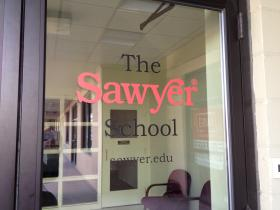 The Sawyer School's Hartford Avenue branch in Providence. Photo by Elisabeth Harrison